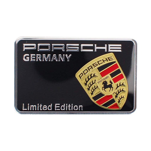 PORSCHE Porsche Germany Logo Trunk Emblem Sticker Trunk Emblem