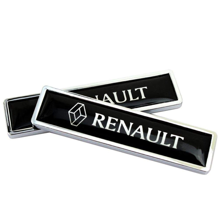 RENAULT 2pcs Renault Logo Emblem Stickers Emblems Stickers