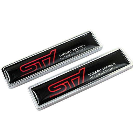 2pcs Subaru Tecnica International STI  Emblem Stickers