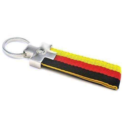 SKODA SKODA Germany Flag Keychain Car Keychain