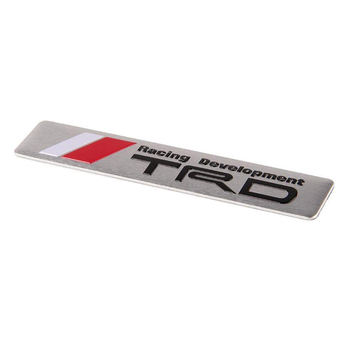 TOYOTA Toyota Racing Development TRD Trunk Emblem Sticker Trunk Emblem