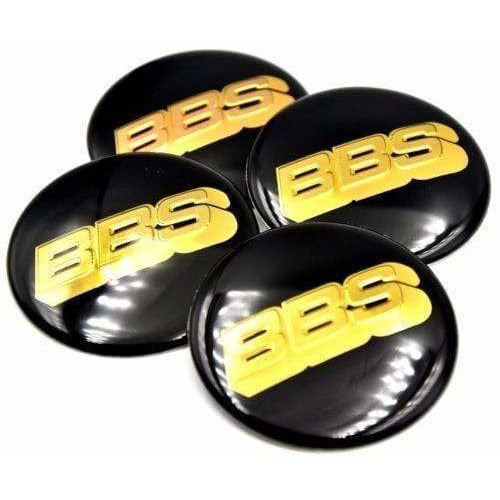 4pcs 60mm 6cm BBS Car Styling Wheel Hub Cap Emblem Badge Sticker BBS Center Cap