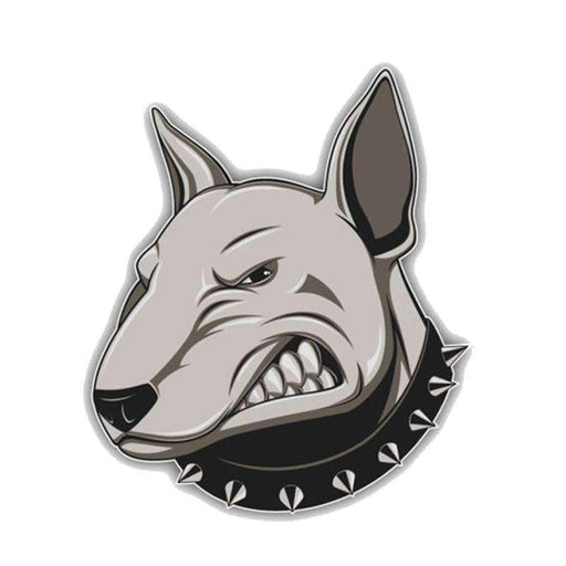 UNIVERSAL Angry Bullterrier Dog Decals Decals