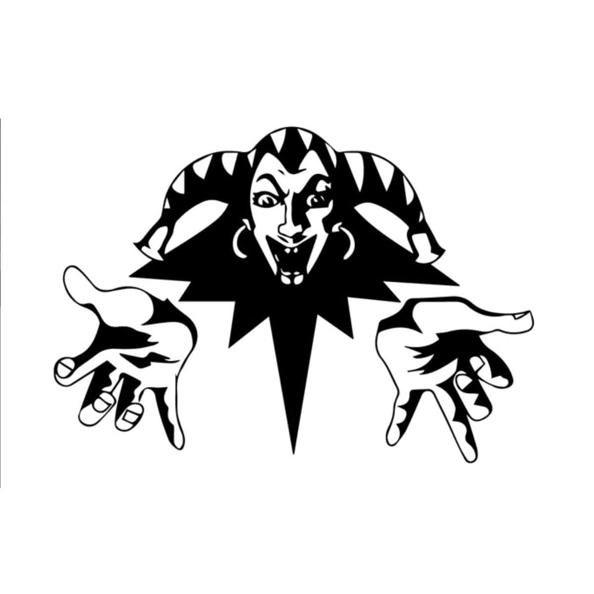 King and the Clown Logo Car Auto Vinyl Decal Sticker