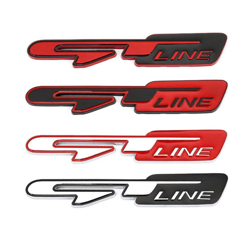 GT Line Emblem Sticker for Peugeot