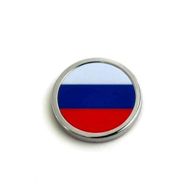 2pcs Russia Flag Emblems