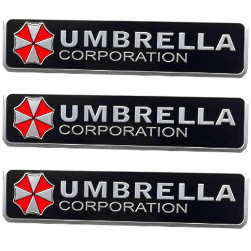 75mm Resident Evil Umbrella Corporation Emblem Sticker
