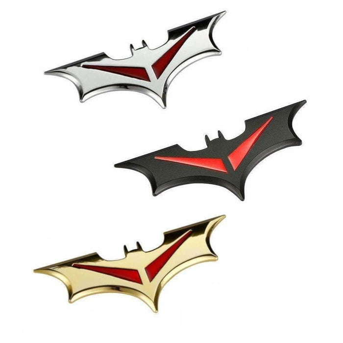 UNIVERSAL Batman Metal Emblem Sticker Emblems Stickers