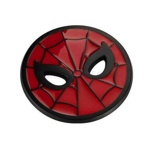 Spiderman Emblem Sticker - Black