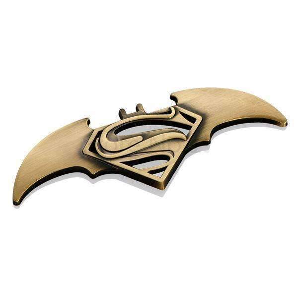Superman Batman Bronze Emblem Sticker
