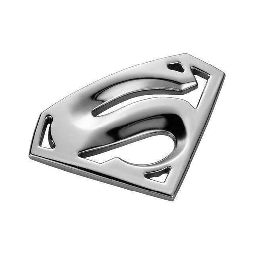 Superman Silver Emblem Sticker