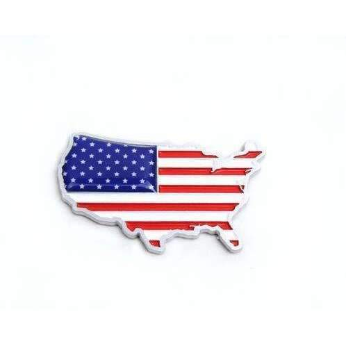 UNIVERSAL United States American Flag Emblem Sticker Emblems Stickers
