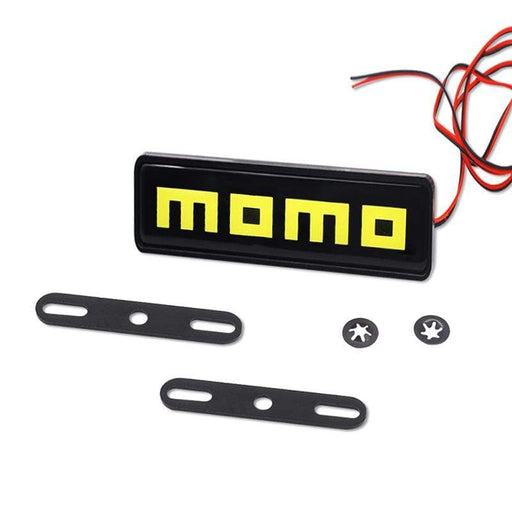 Monster Eyes Momo LED Light Grille Emblem