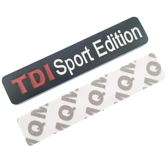 VOLKSWAGEN TDI Sport Edition Emblem Sticker for Volkswagen Emblems Stickers Black
