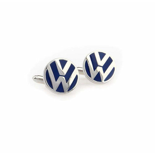2pcs Volkswagen Logo Men's Shirt Cufflinks