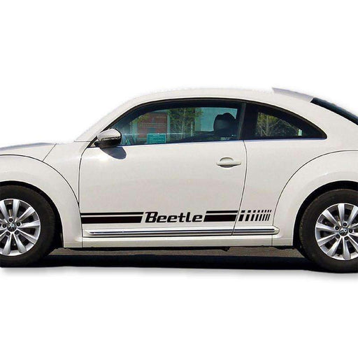 VOLKSWAGEN 2pcs Beetle Door Stickers for Volkswagen Decals