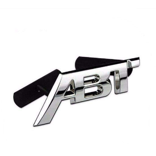 Metal Silver ABT Grille Hood Badge for VW