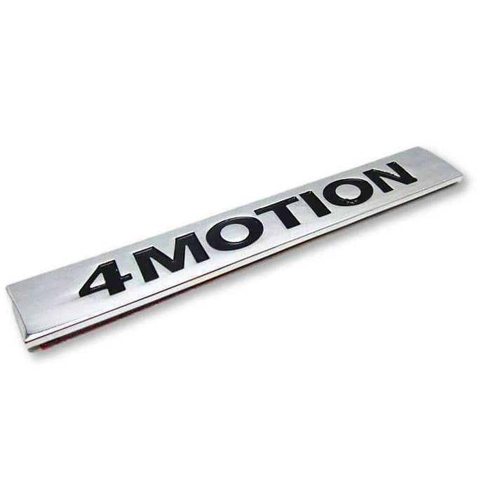 VOLKSWAGEN 4Motion Emblem for Volkswagen Emblems Stickers