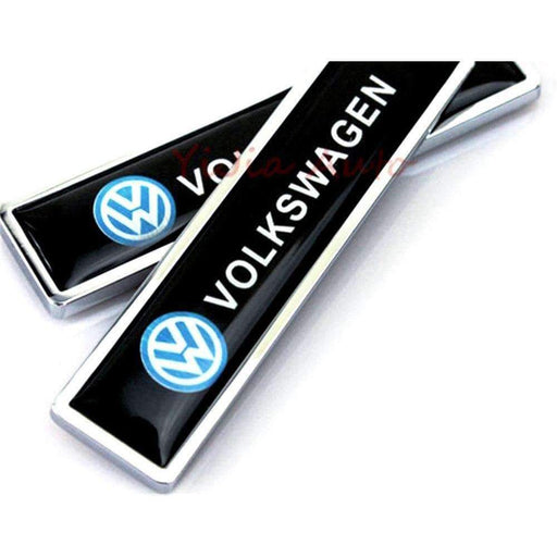 VOLKSWAGEN Badge Volkswagen Emblem Sticker 2 Pcs Emblems Stickers