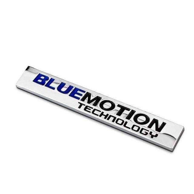 Bluemotion Technology Metal Trunk Emblem for Volkswagen