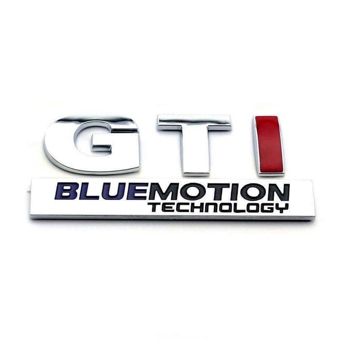 GTI + Bluemotion Emblems for Volkswagen
