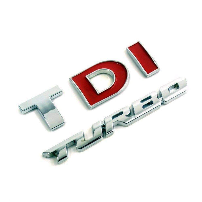 VOLKSWAGEN Set TDI Turbo Sticker for Volkswagen Emblems Stickers