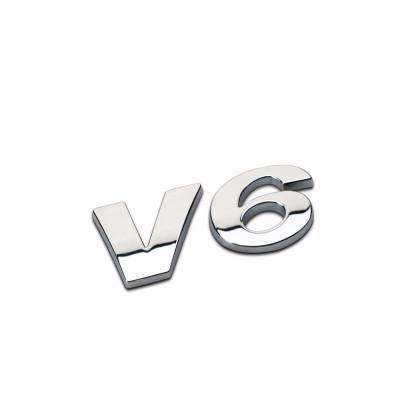 Small V6 Metal Emblem for Volkswagen