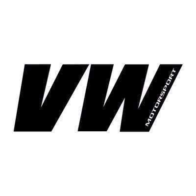 VW Motorsport Vinyl Sticker Decal for Volkswagen Black