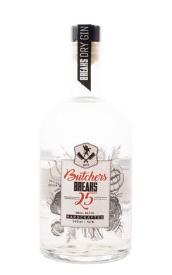 Butchers Breaks 25 Gin 42% vol 0.5l - GinFriends