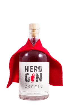 HERO-GIN DRY GIN 41% vol 0.5l - GinFriends