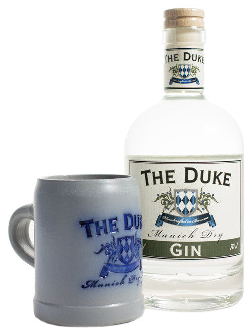 The Duke Munich Dry Gin 45% vol 0.7l inkl. The Duke Krug (0.25l) - GinFriends