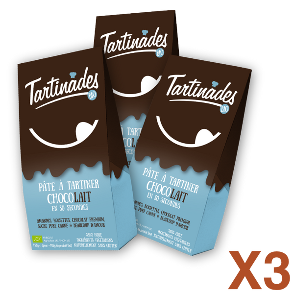 Pack 3 Tartinades Chocolait