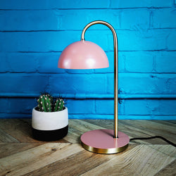 ROSA table lamp, faded pink, 37cm