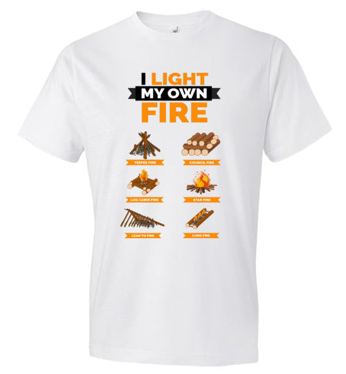 "Men's ""I Light My Own Fire"" T-Shirt"