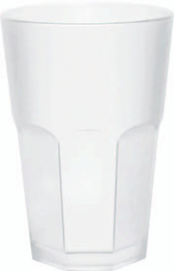 Frosted Glas Weiss   0,5l    SALE