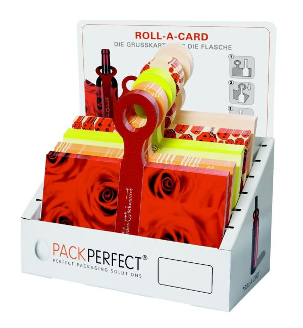 Display für Roll-A-Cards