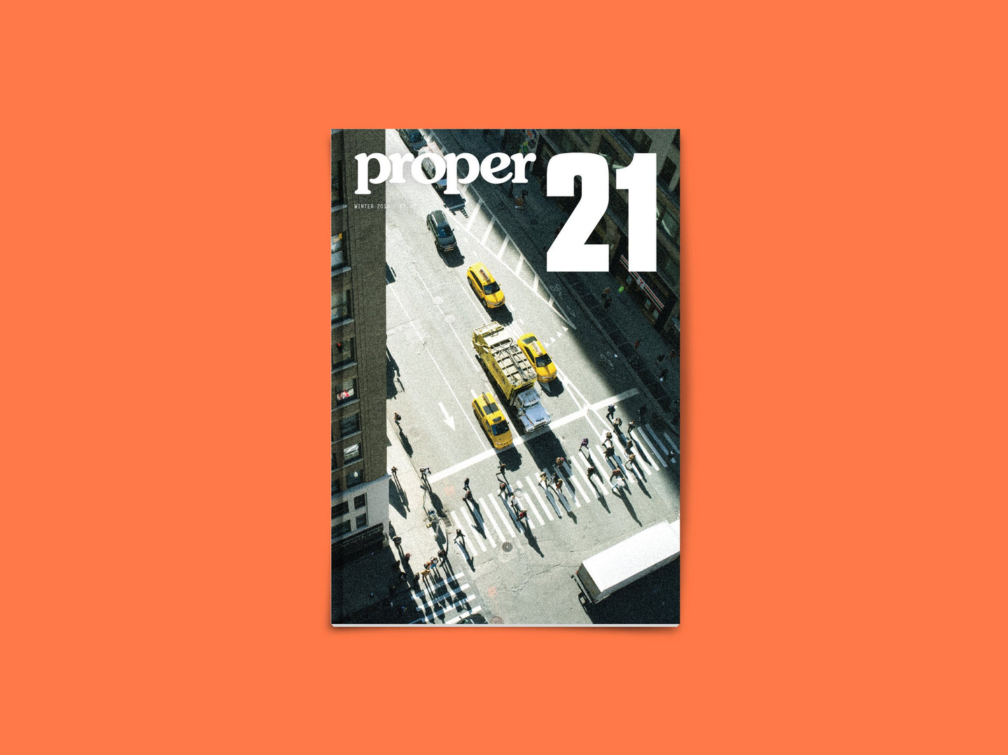 Proper Magazine Issue 21 - Bivouac Cover