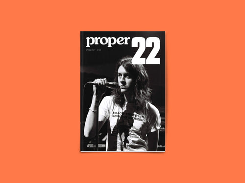 Proper Magazine Issue 22 - Blossoms Cover