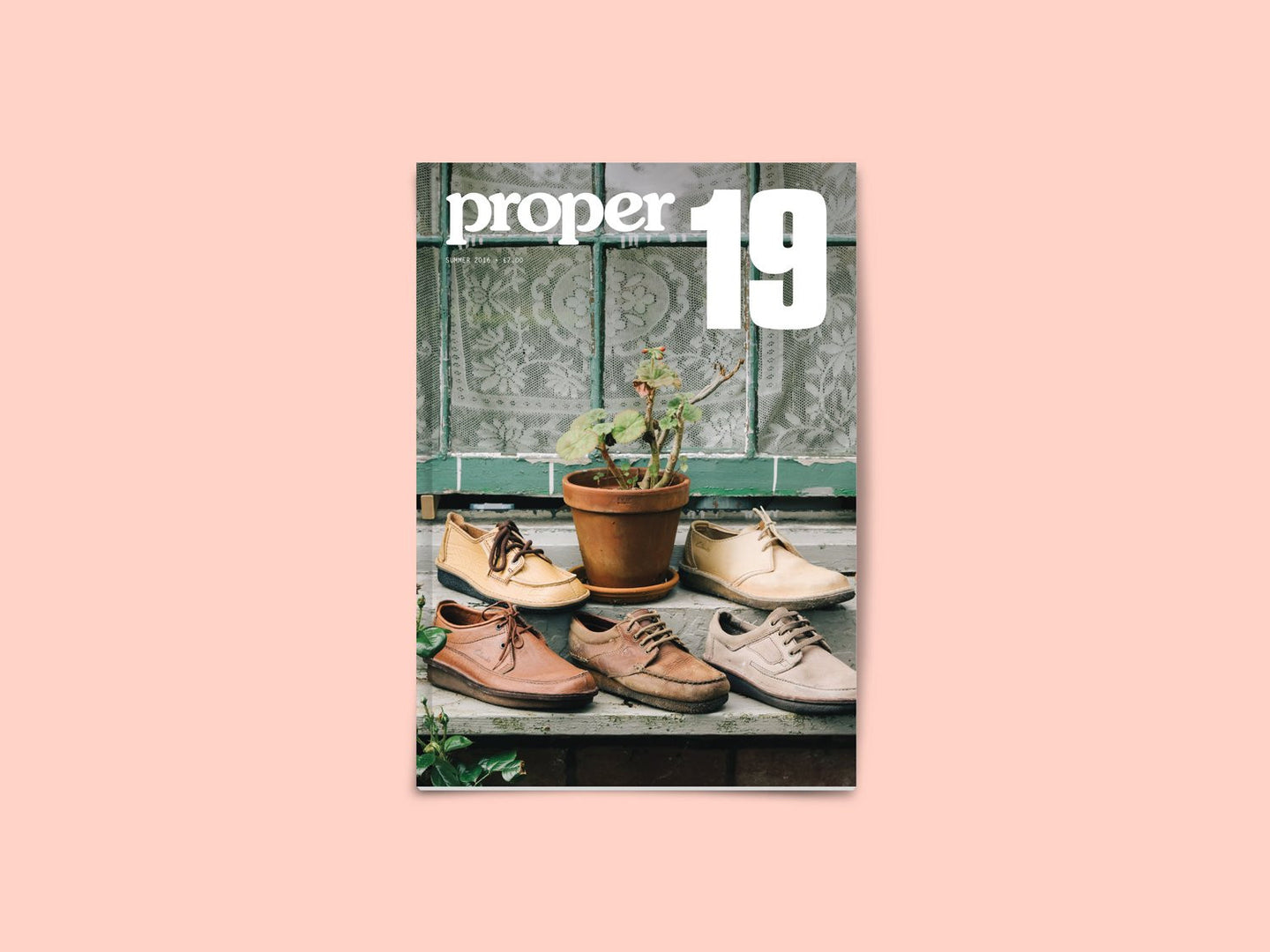 Proper Magazine Issue 19 - Clarks Cover (MAGP19A)
