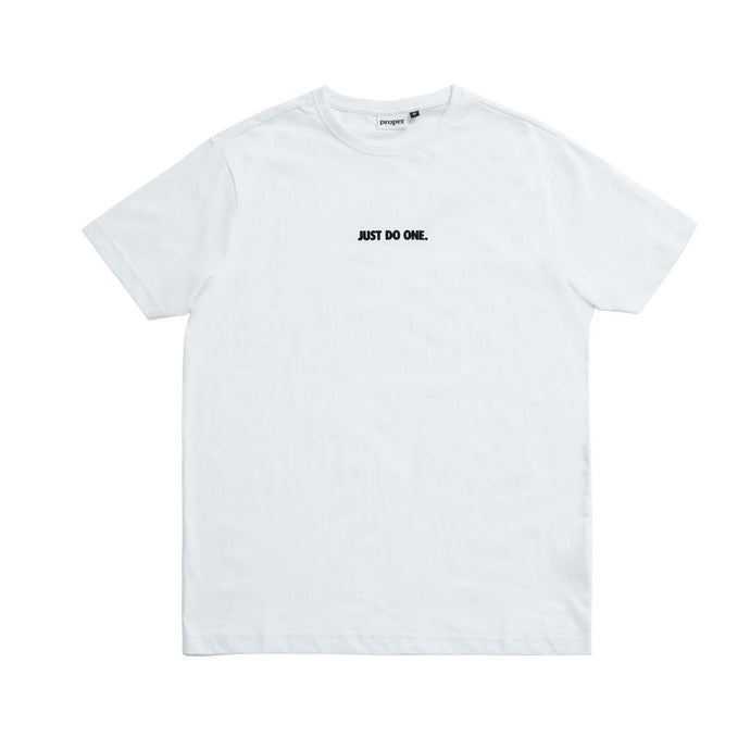 Proper - Just Do One T-Shirt - White