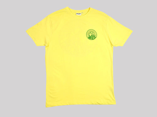 Proper Hikerdelic T-Shirt - Yellow/Green