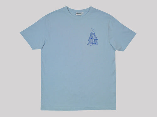 Proper x Ben Lamb Mountain Man Tee - Sky Blue