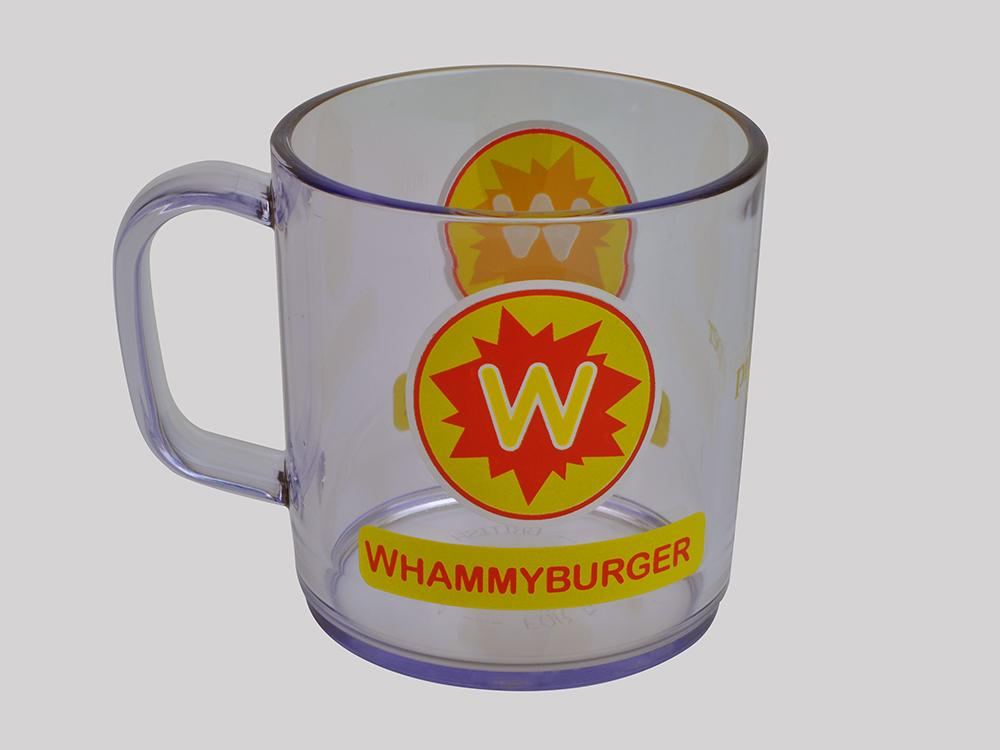 Proper Whammy Burger Mug Clear