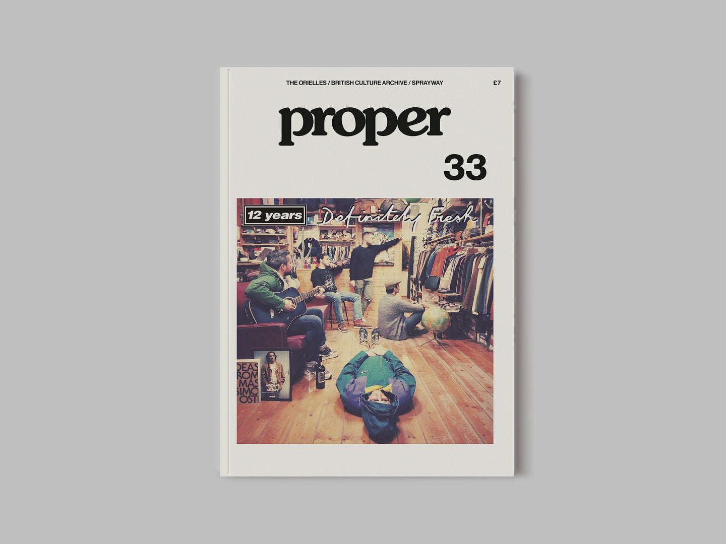 Proper Magazine Subscription (33, 34, 35 and 36)