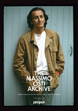 Massimo Osti Archive Event Poster