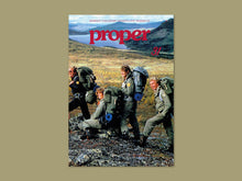 Proper Magazine Issue 31 - Fjällräven Cover