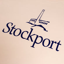 Proper 'Flock Logo' Stockport T-Shirt - Pink