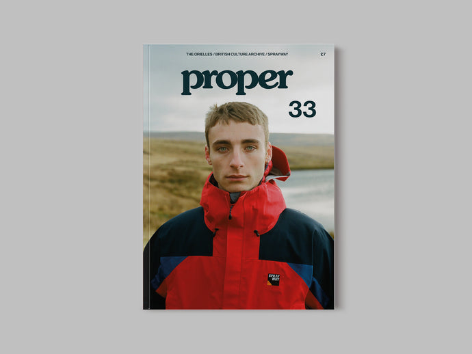 Proper Magazine Issue 33 - Sprayway Cover