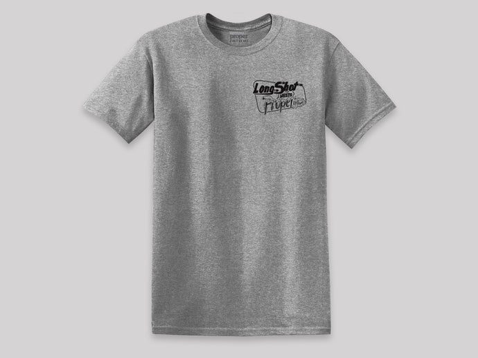 Proper x Long Shot T-Shirt- Sport Grey
