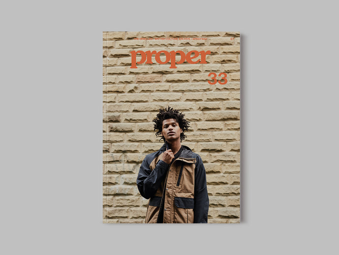 Proper Magazine Issue 33 - TNF Cover